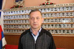 Предсједник Предсједништва општинске Борачке организације Брод Зоран Видић.