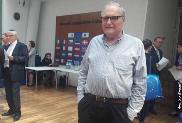 """Директор Центра """"Симон Визентал"""" Ефраим Зуроф није се обраћао присутнима"""
