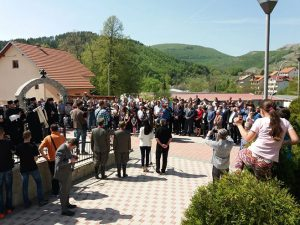 Obilježavanje godišnjice smrti Gavrila Principa Foto: RTRS