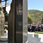 Полагањем вијенаца на централни споменик за 1.080 погинулих бораца у одбрамено-отаџбинском рату, у Зворнику је данас обиљежен Дан ослобођења града - 9. април.