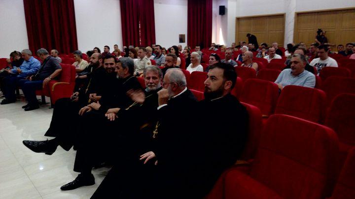 """У Бијељини је вечерас приказан филм Душана Басташића """"Крст над јамом"""" о страдању Срба у Другом свјетском рату."""
