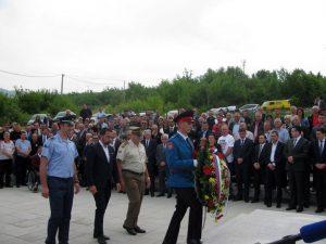 У Миљевићима у Источном Сарајеву обиљежено је 26 година од страдања припадника ЈНА у Добровољачкој улици у Сарајеву 1992. године, када су убијена 42 припадника ЈНА, 71 је рањен, а 207 заробљено и мучено у логорима.
