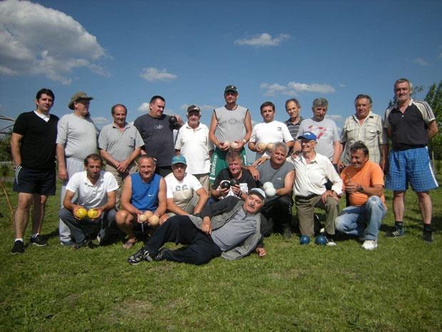 Екипа крајишко-банатских балоташа Фото Р. Шегрт