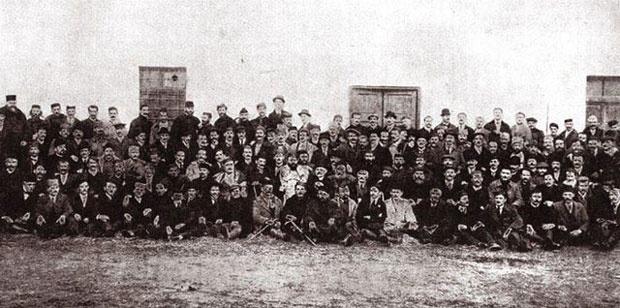 Историја Учесници Подгоричке скупштине пре сто година Фото Архива Српски национални савет