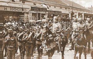 Александар Карађорђевић свечано улази у Београд 1913. године