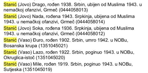 Босна-општина Босански Брод – Хашани 6 Станића