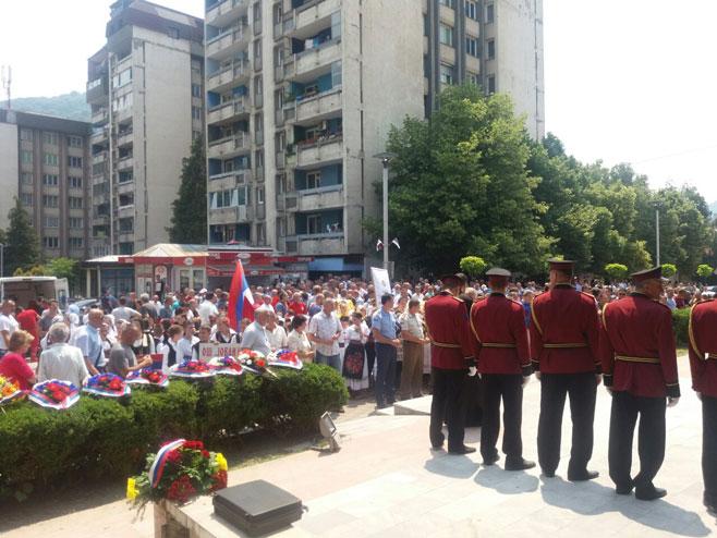 Обиљежавање годишњице формирања Зворничке бригаде Фото: РТРС