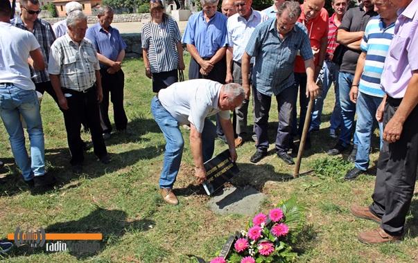 Постављен камен темељац за споменик борцима ЈВуО
