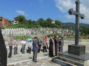 Помен страдалим Србима из Хранче Фото: СРНА