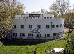 У Спасићевом павиљону, планираном за музеј Холокауста, налази се теретана ,фото Н.Фифић