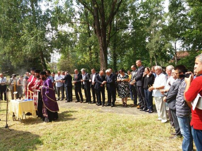 Parastos na Šušnjaru (Foto: RTRS)