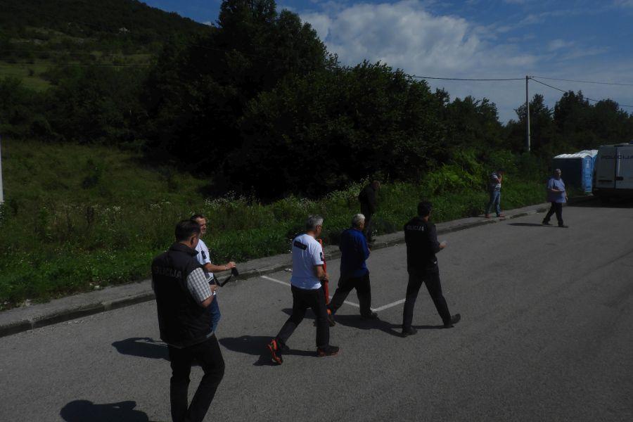 Хапшење Данета Лукајића 30. јуна. ФОТО: Фронтал.рс