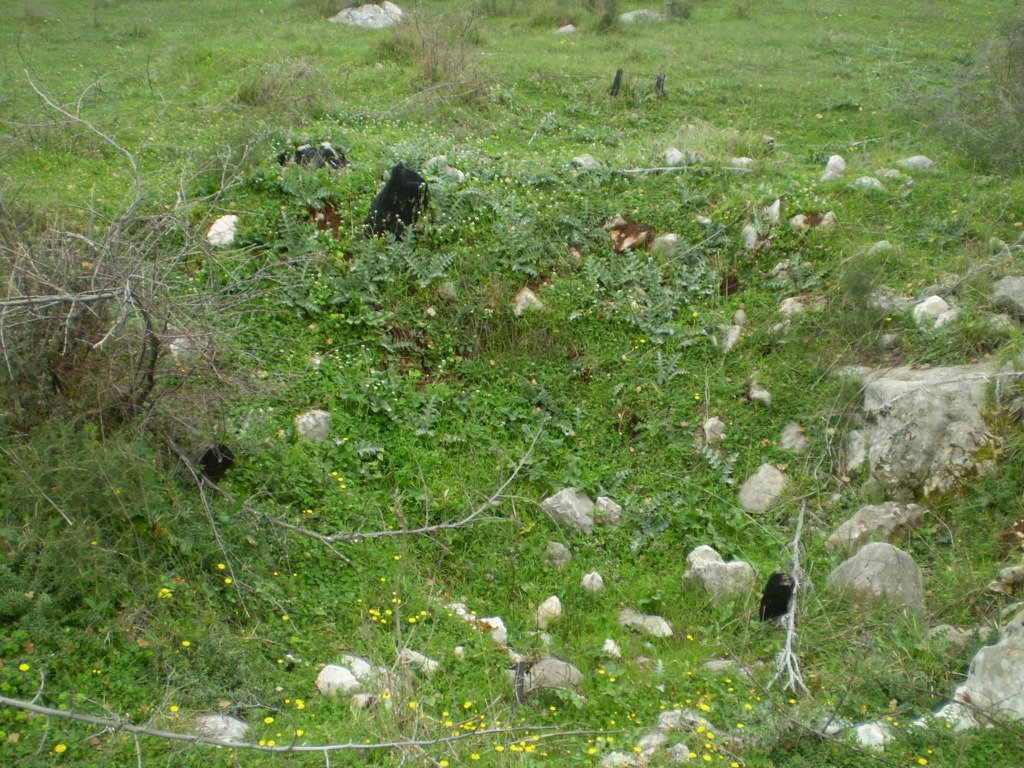 Mjesto gdje su bile zakopane žrtve pokolja