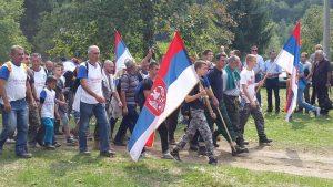 Марш мира – Возућа Фото: СРНА