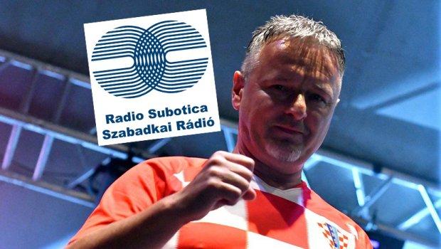 Radio Subotica, Marko Perković Tompson, logo Foto: Profimedia, Facebook/Radio Subotica 104,4 MHz