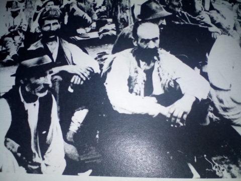 Srbi u logoru Ciglana – juli 1942.