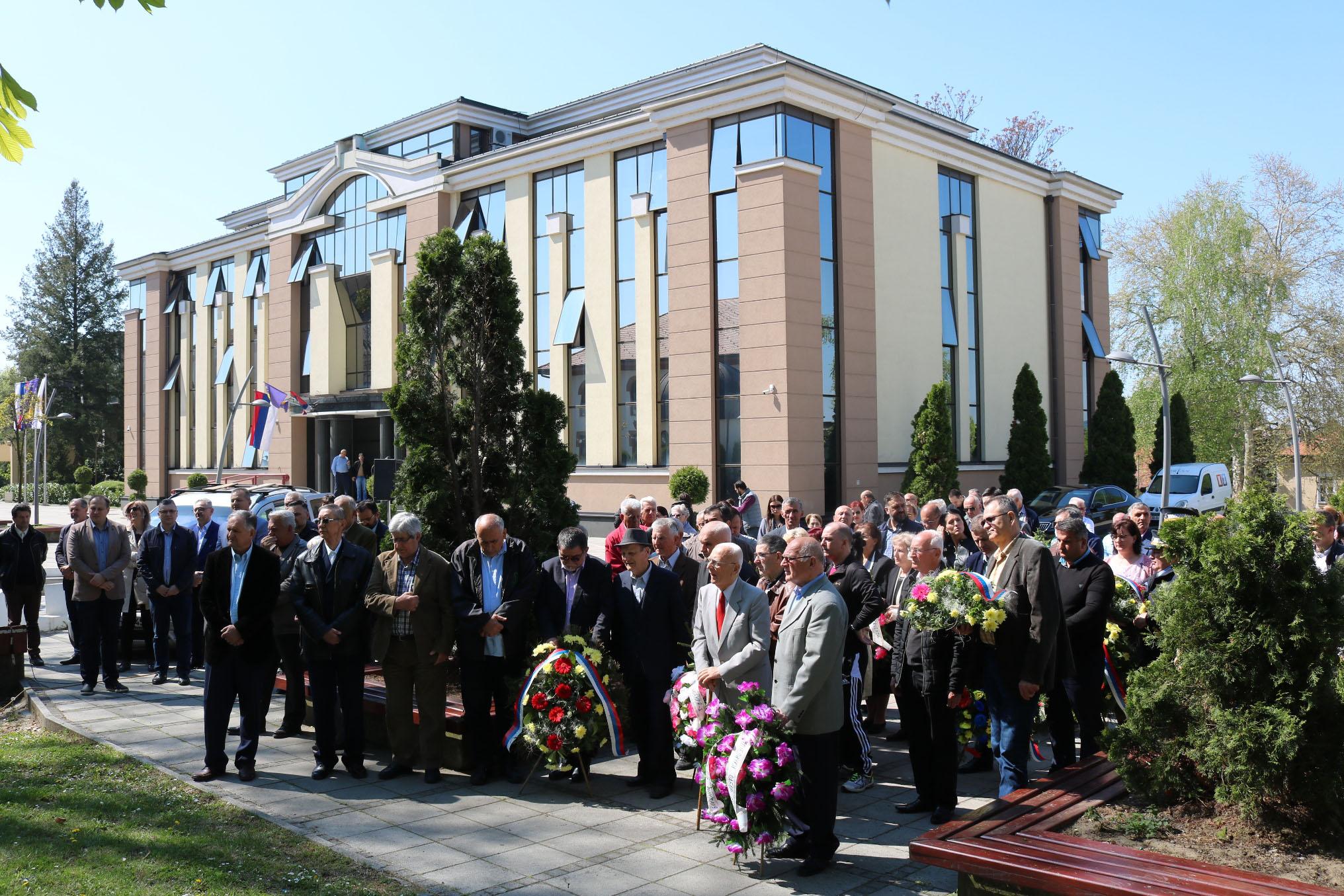 obilježen Dan oslobođenja opštine u Drugom svjetskom ratu Foto: SRNA