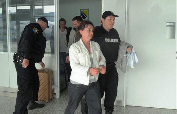 Elfeta Veseli na suđenju