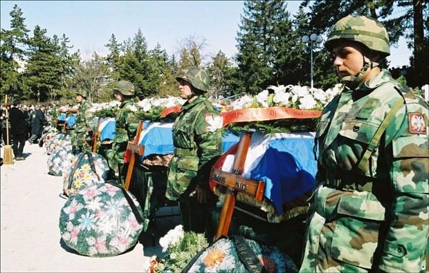 Погинули борци ВЈ из сукоба на простору бивше Југославије Фото В. Кадић