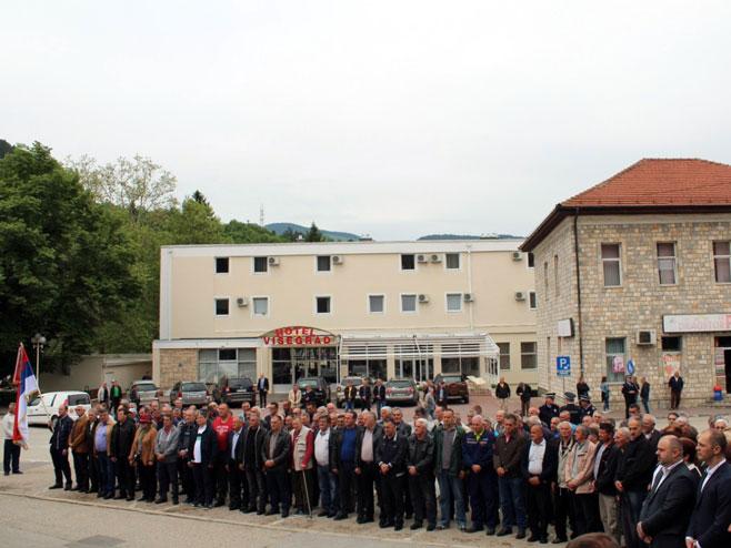Obilježeno 27 godina od formiranja Višegradske brigade Vojske Republike Srpske