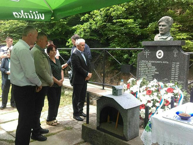 Obilježeno 27 godina od stradanja Srba u Kiseljaku kod Zvornika Foto: RTRS