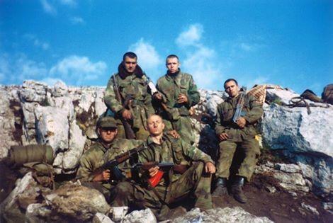 Borci 549. motorizovane brigade na Paštriku / Foto: RTS