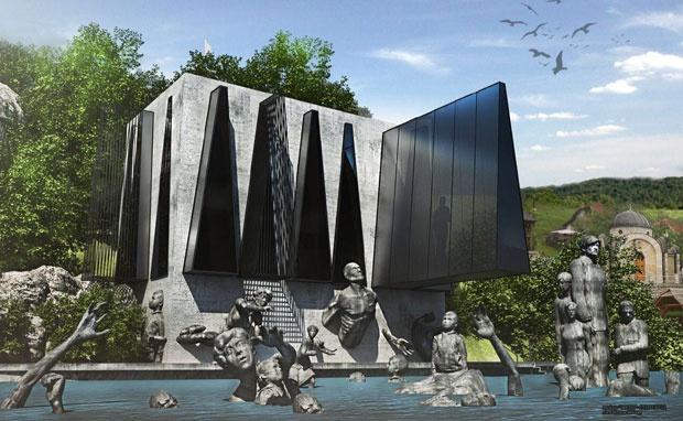 Spomen mauzolej na Drini