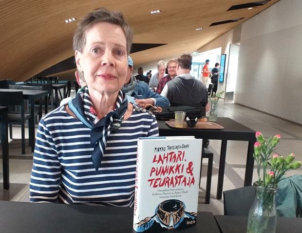 PRAVDA Pirko Turpijenen sa svojom knjigom