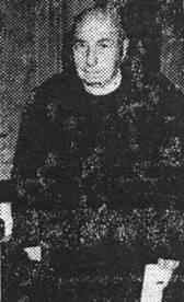 Don JOSIP FELICINOVIĆ, svećenik u Pagu – snimljen 10. veljače 1981. godine u Župnom uredu u Pagu.