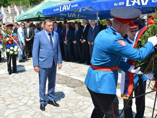 Milorad Dodik Foto: RTRS