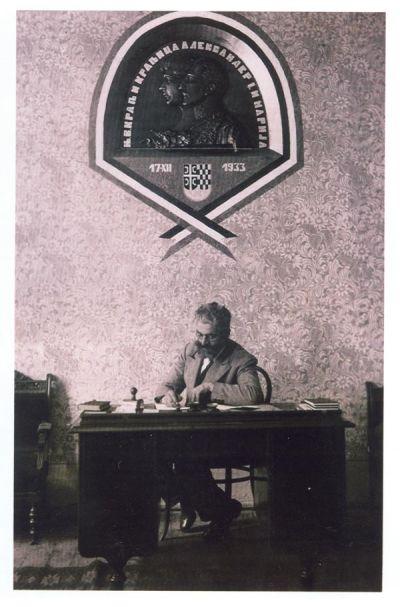 Simo Budimir, Predsjednik skupštine opštine Mrkonjić Grad 1933.