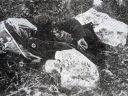 U knjizi na strani 149-a Srpski seljak kome su iskopane oči, odsječen jezik a usni timpani probodeni ekserima, potom je ubijen udarcima motike, ubili ga ustaše u zoni Gacko-Avtovac juna 1941.