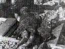 U knjizi na strani 151-a Ostrvo Pag, ekshumirani leševi dviju djevojčica iz masovne grobnice