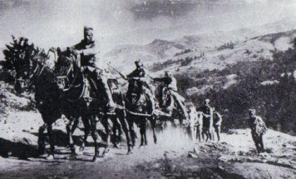 Artiljerija se pomera u položaj odbrane