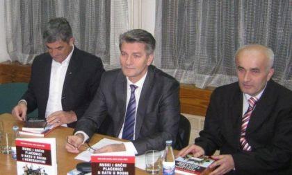 Aziz Tafro (desno) i Šemsudin Mehmedović (u sredini)