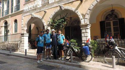 Biciklisti iz Višegrada na ostrvu Krf