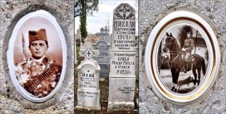 Boračko groblje kraj crkve u Velikoj Moštanici
