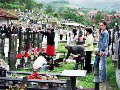 Srpsko groblje u Bratuncu