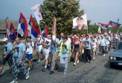 I Putinova slika na Cerskom maršu (Foto: Pravda)