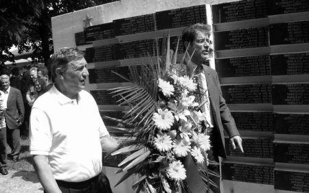 Delegacija SNV-a - Rade Kosanović i Saša Milošević