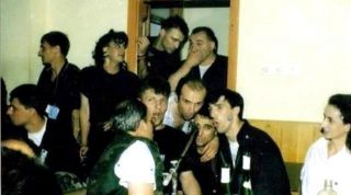 "Dino Merlin u ""finom"" društvu 1988."