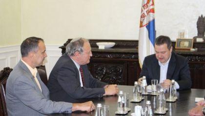 Efraim Zurof i Ivica Dačić