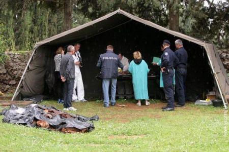 Ekshumacija posmrtnih ostataka Srba u Zadru