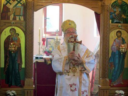 Episkop zvorničko-tuzlanski Hrizostom danas je služio liturgiju u Bjelovcu