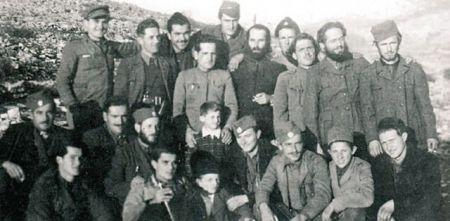 Grupa crnogorskih četnika početkom 1944. godine