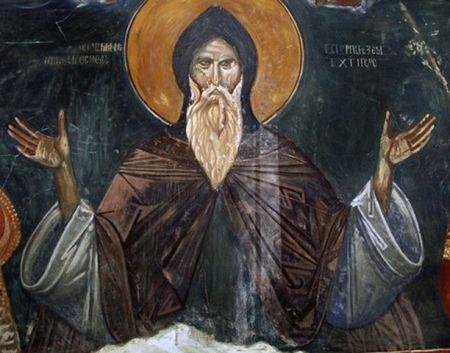 Freska Stefana Nemanje u Ljeviškoj crkvi u Prizrenu
