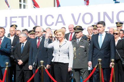 Hrvatski zvaničnici na proslavi Bljeska