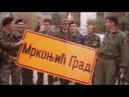 Hrvatski agresori u Mrkonjić Gradu 1995.