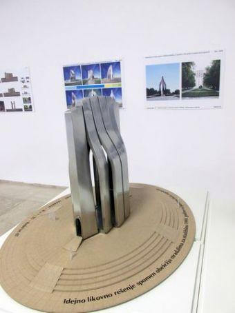 Idejno rješenje spomenika na Ušću