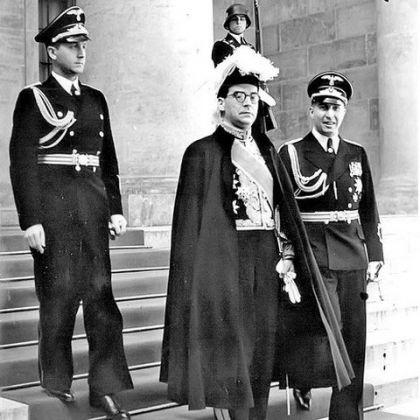 Ivo Andrić posle predaje akreditiva Hitleru